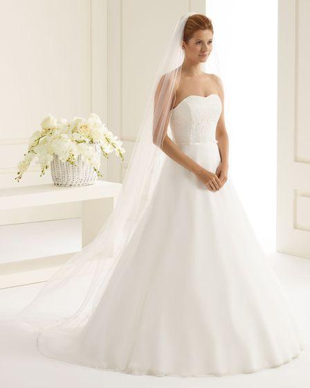 Brautschleier Länge 220 cm; einstufig