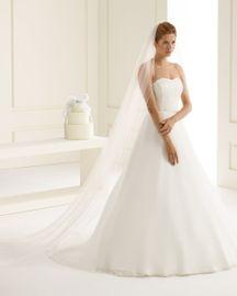 Brautschleier Länge 300 cm; einstufig