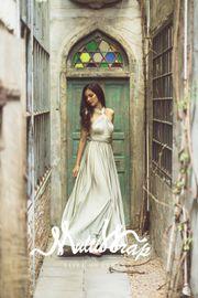 ELIZA & ETHAN Brautjungfernkleid Diva – Sage 001