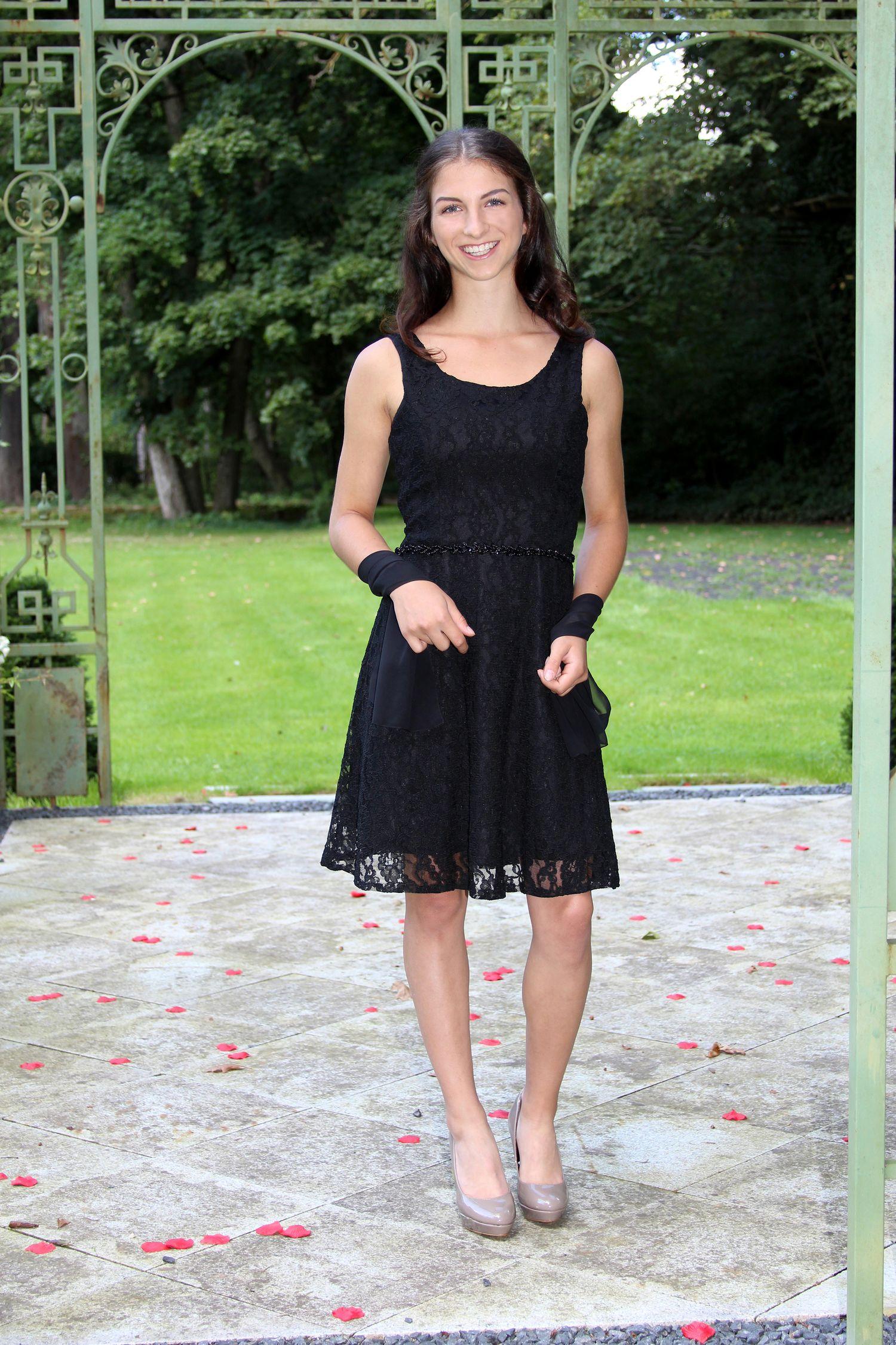 Konfirmationskleid Melina – Schwarz