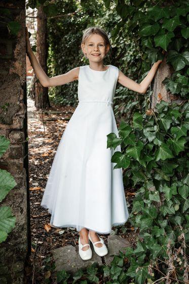 Kommunionkleid Larissa mit Bolero (regular fit) - weiß