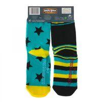 2 Paar Angry Birds Socken - Jungen, Unisex Star Wars | bunte Muster 006