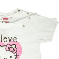 Hello Kitty T-Shirt Top Mädchen Jungen Unisex | kurzarm | Weiss, Grau oder Türkis 006