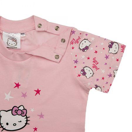 Hello Kitty T-Shirt Top Mädchen | kurzarm | Pink