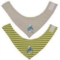 Hello Kitty oder Schlümpfe Baby Bandana Halstuch Dreieckstuch Lätzchen Mädchen Jungen  008
