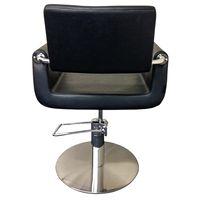 Cleveroo Friseurstuhl DENEUVE, runde Bodenplatte, Sitzhöhe verstellbar: 46 - 62 cm,  360° drehbar Bild 5