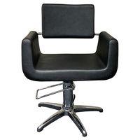 Cleveroo Friseurstuhl DENEUVE, alu Kreuzfuss, Sitzhöhe verstellbar: 46 - 62 cm,  360° drehbar 003