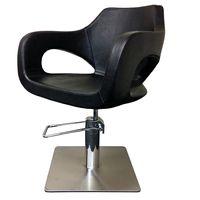 Cleveroo Friseurstuhl LADY DI, quadratische Bodenplatte, Sitzhöhe verstellbar: 44 - 60 cm,  360° drehbar 001