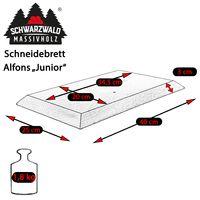 Schneidebrett ALFONS, Buche natur 010