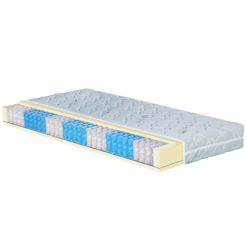 orthop dische 7 zonen taschenfederkern matratze 90 x 200 cosy h3 70 110 kg 20 cm h he. Black Bedroom Furniture Sets. Home Design Ideas