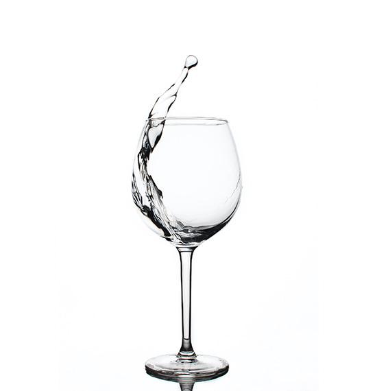 Hoher Wasserdruck