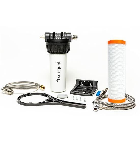 under sink water filter kit