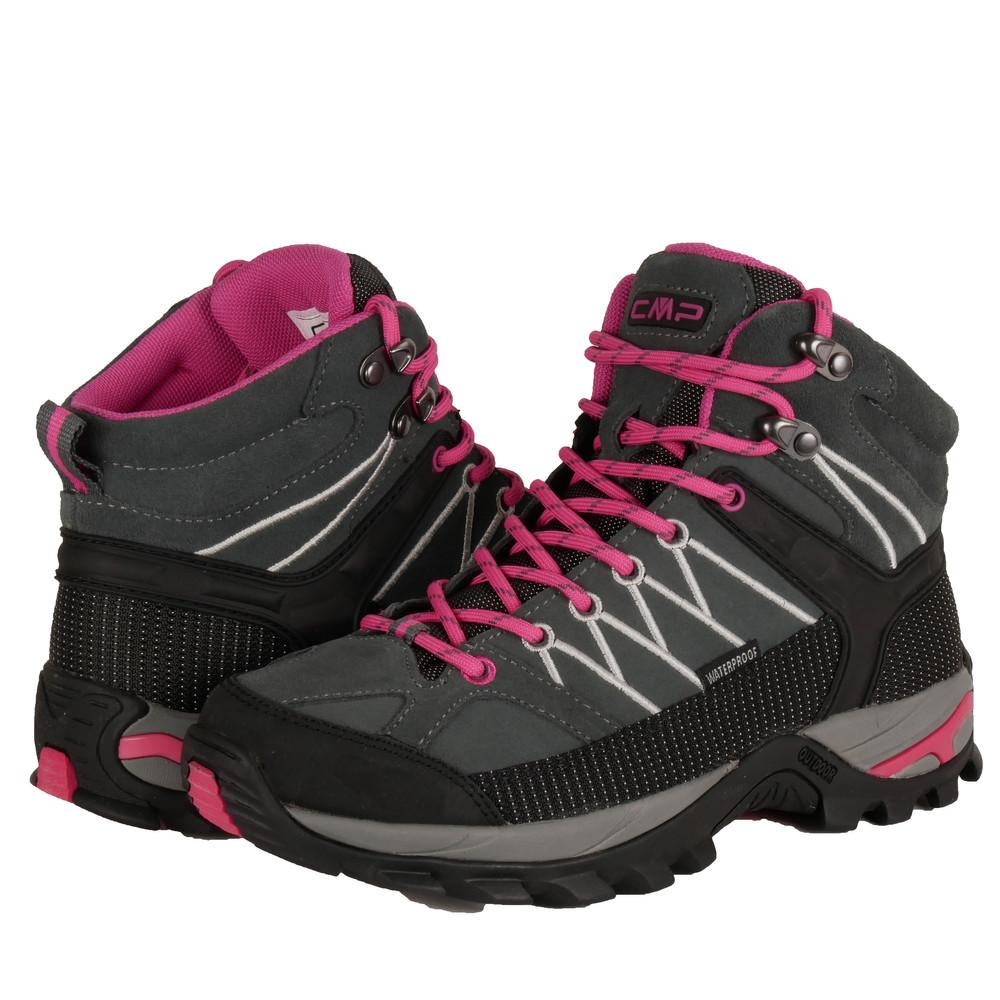 CMP Wanderschuhe Damen Outdoor Schuhe Trekkingsschuhe wasserdicht leicht und bequem mit dicker Sohle in vielen Farben Ragel