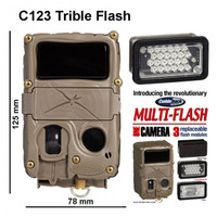 Wildkamera Cuddeback C123 - Trible Flash Bundle