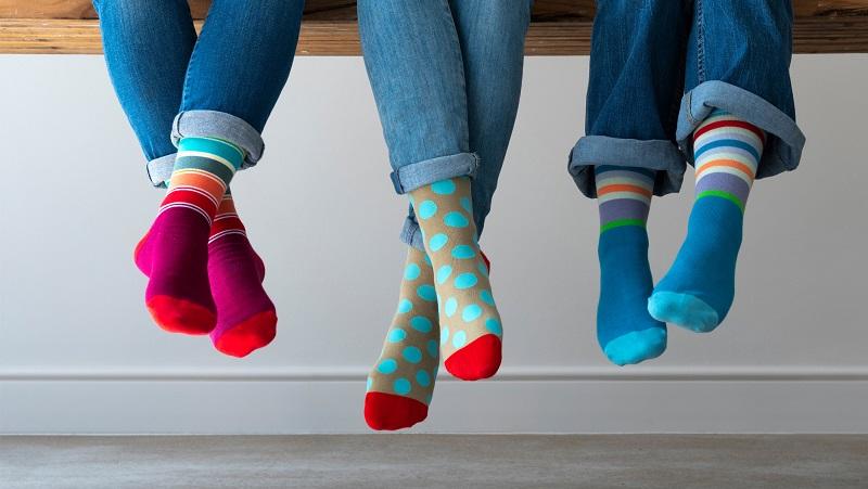 Gute Laune Socken von Remember