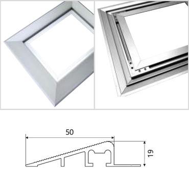 picobello ZUBEHÖR Aluminium Antrittskante für Eingangsmatten – Bild 3