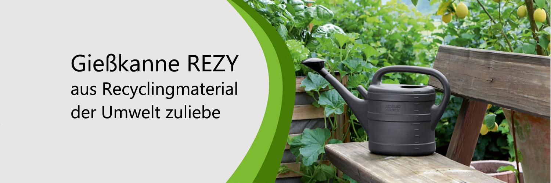 Nachhaltige Gießkanne RECY Inhalt 10 Liter