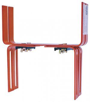 Halter in H - Form für Blumenkasten Balkonkastenhalter – Bild 1