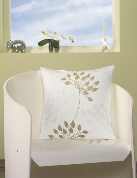 kissenh lle voyage 50cm in beige sch ner wohnen heimtextilien kissen. Black Bedroom Furniture Sets. Home Design Ideas