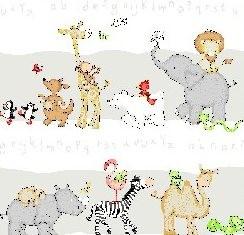 vorhang kinderzimmer tiere, kinderzimmer gardine schlaufenschal set tier motiv weiß, Innenarchitektur