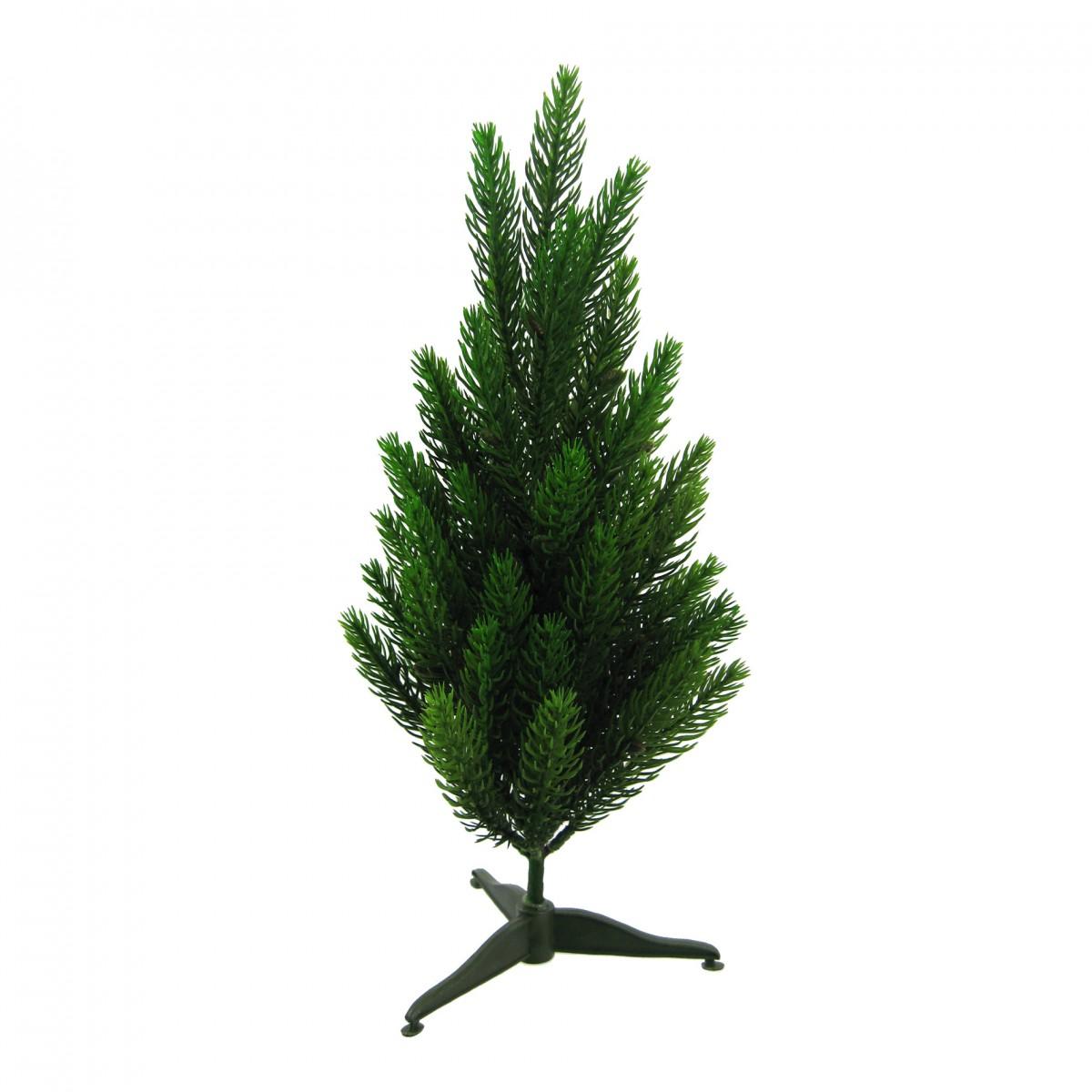 Künstlicher Fichtenbaum 30 cm mit Fuss Weihnachten Künstliche ...