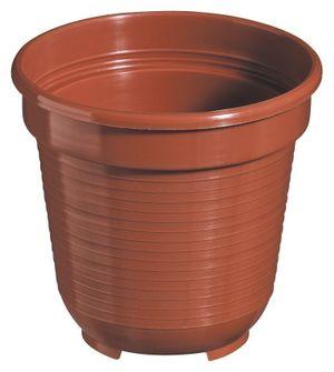 10er Set Pflanzkübel Blumentopf Standard 28 cm rund aus Kunststoff Sparpaket – Bild 3