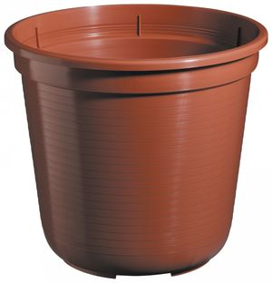 10er Set Pflanzkübel Blumentopf Standard 36 cm rund aus Kunststoff Sparpaket – Bild 3