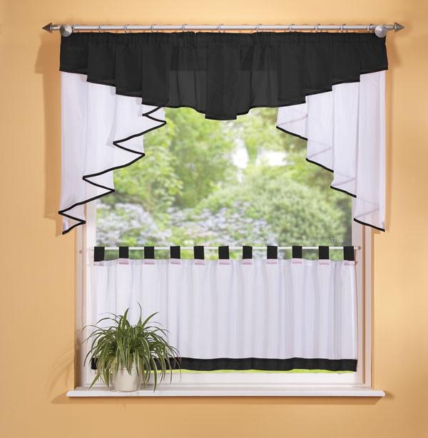 scheibengardinen set 2 teilig 150 cm breit in. Black Bedroom Furniture Sets. Home Design Ideas