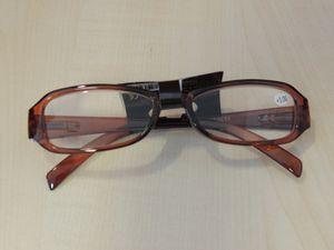 Lesebrille Lesehilfe Brille braun 2,5 DPT – Bild 1