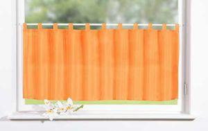 Scheibengardine Panneaux Uni Voile 50 x 160 cm – Bild 1