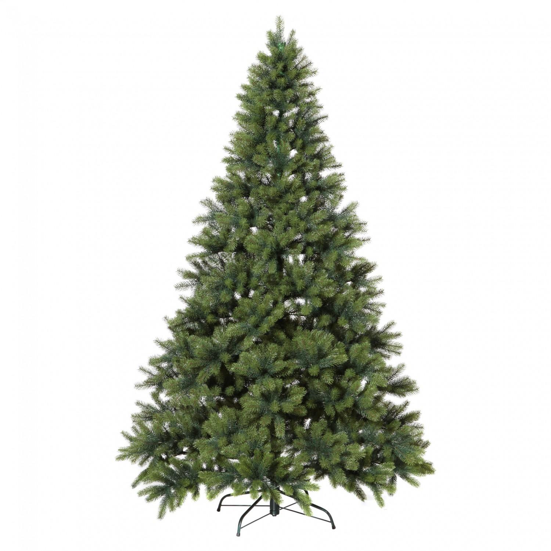 k nstlicher tannenbaum weihnachtsbaum 210cm mit st nder. Black Bedroom Furniture Sets. Home Design Ideas