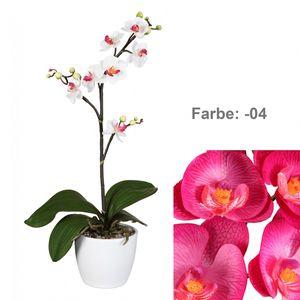 Künstlicher Phalaenopsis Cassandra 50 cm Cerise
