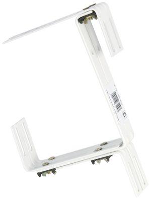Halter für Standard Balkonkasten dreifach verstellbar Blumenkastenhalter – Bild 1