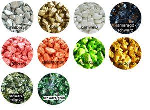 Dekogranulat Effektsteine Dekokies Farbkies 8-16 mm 1000 g Streudeko – Bild 1