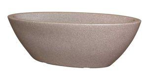 Pflanzschale Jardinere Rimini oval aus Kunststoff 60cm – Bild 1