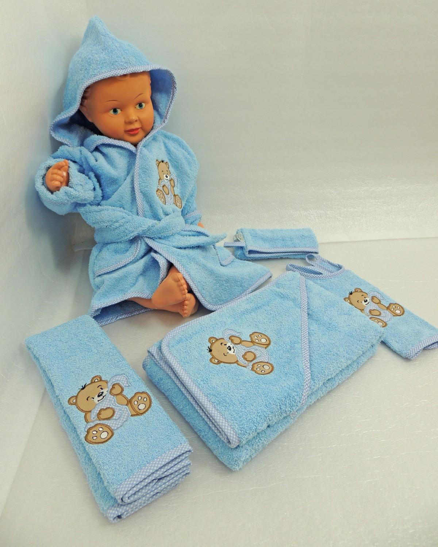 baby frottee set b r handtuch kapuzenhandtuch bademantel 5. Black Bedroom Furniture Sets. Home Design Ideas