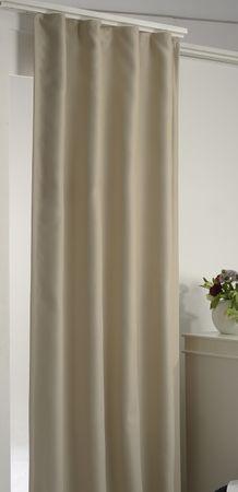 Arsvita Verdunkelungsgardine Vorhang mit Kräuselband – Bild 4