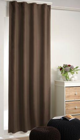 Arsvita Verdunkelungsgardine Vorhang mit Kräuselband – Bild 1