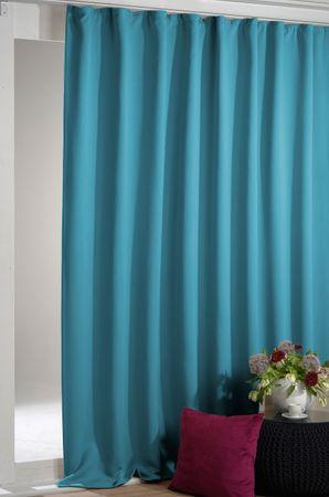 Arsvita Verdunkelungsgardine Vorhang mit Kräuselband – Bild 7
