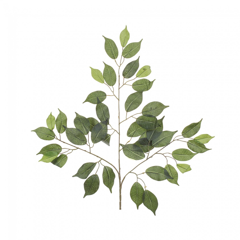 Ficuszweig Kunstpflanze 55 Cm K Nstlich Unecht Dekopflanze