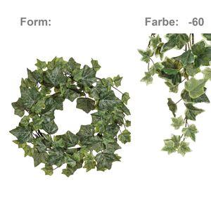 Englischer Efeukranz Kunstpflanze Ø 30 cm gefrostet