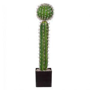 "Kaktus ""Mix"" Kunstpflanze 60 cm im Kunststofftopf"