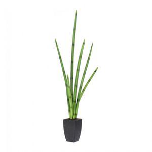 Sanseveria Kunstpflanze 100 cm im Kunststofftopf