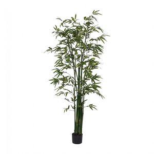 Bambus Kunstpflanze 180 cm mit Naturstamm