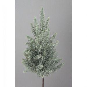 Künstliche Fichte Fichtenbäumchen Weihnachtsbaum beschneit 35 cm