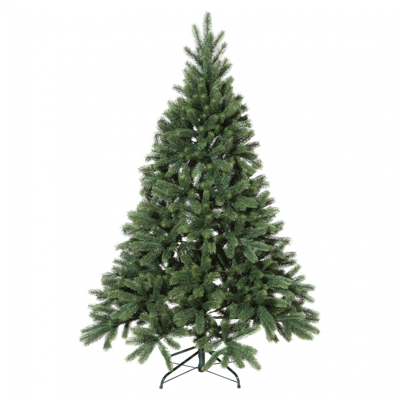 Weihnachtsbaum Tannenbaum.Künstlicher Weihnachtsbaum Tannenbaum Aus Kunststoff Mit Ständer 210 Cm
