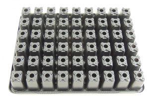 5 Stk. Anzuchtplatte 3040/54 Pikierplatte Multitopfplatte Topfpalette Kunststoff – Bild 4