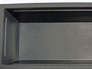 Raumteiler Pflanzkübel Kubus aus Kunststoff anthrazit  – Bild 3