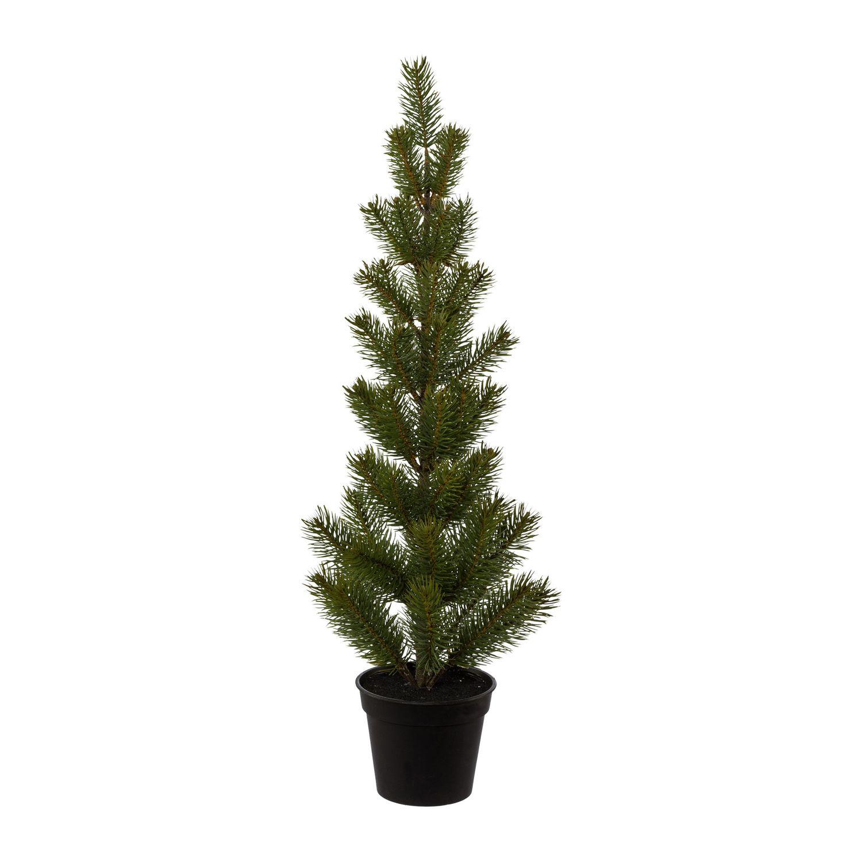 Foto Weihnachtsbaum.Kunstlicher Tannenbaum Schmal Mit 55 Spitzen Kunstlicher Weihnachtsbaum