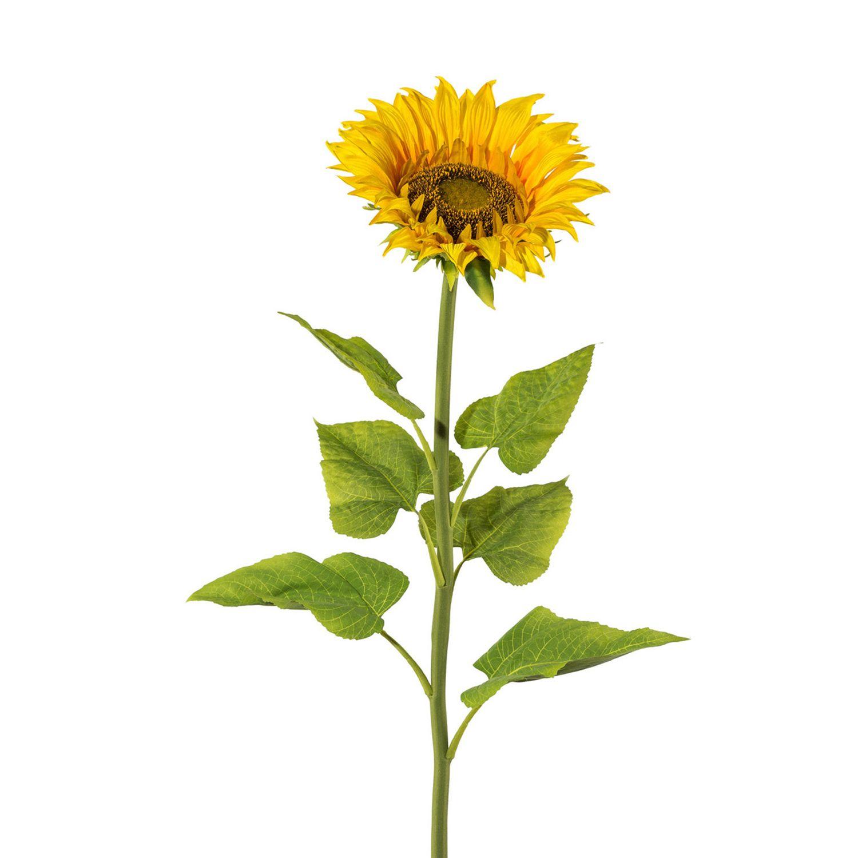 k nstliche sonnenblume 107 cm sch ner wohnen dekoration floristik einzelbl ten stiele. Black Bedroom Furniture Sets. Home Design Ideas